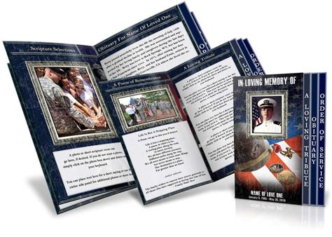 memorial leaflet layout 139 best images about funeral program templates thank