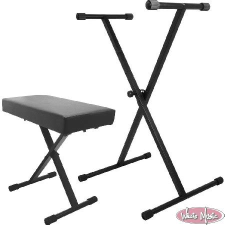 keyboard stand and bench on stage keyboard stand and bench pak willis music store
