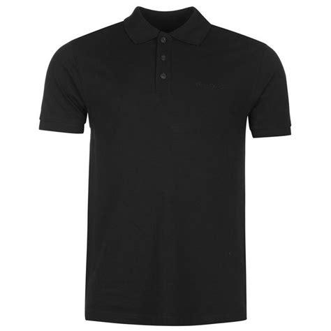 Polo Shirt Black cardin cardin plain polo shirt s polos