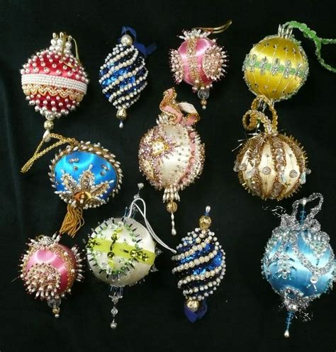 Handmade Beaded Decorations - 25 best images about handmade beaded ornaments on