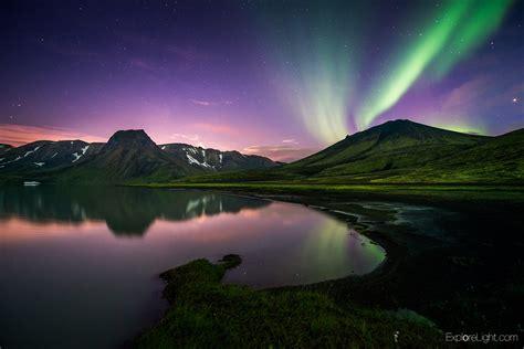 Northern Lights Landscaping Iceland Northern Lights Landscape Photography