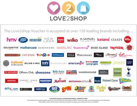 Love2shop Gift Cards - love2shop gift vouchers voucher express