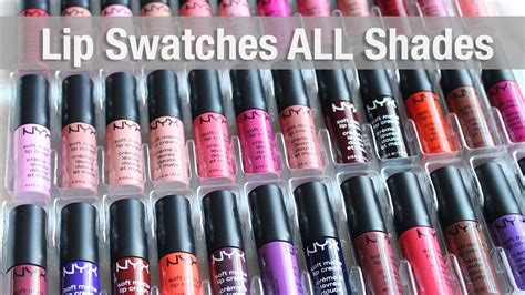 nyx soft matte lip swatches all nyx soft matte lip lip swatches all 35 shades