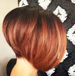 a line haircut ombre color 22 graduated bob hairstyles you ll want to copy now