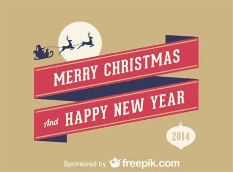 imagenes merry christmas and happy new year merry christmas and happy new year vector free download