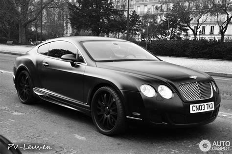 bentley and black bentley wald continental gt black bison edition 3 april