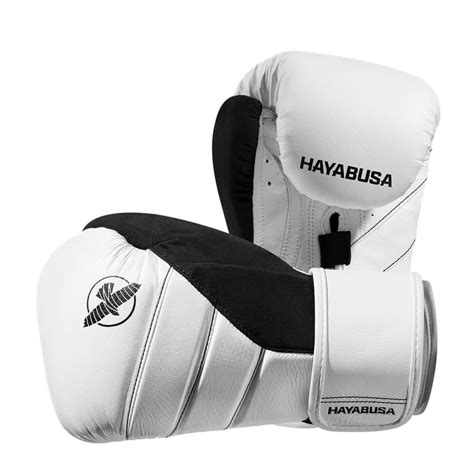 Black And White Gloves hayabusa t3 boxing gloves white black