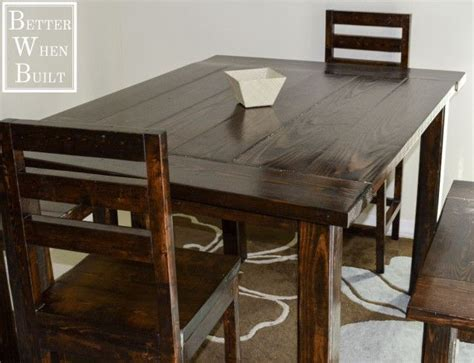 diy counter height table 1000 ideas about counter height table on