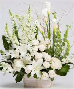 classic funeral arrangements for a celebration of