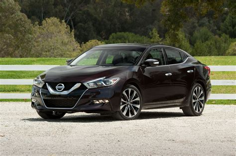 black nissan 2016 nissan issues stop sale on some 2016 maxima sedans