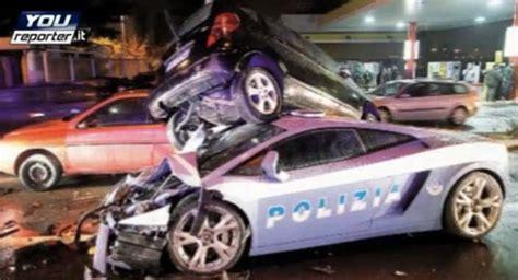 Italian Lamborghini Crash Lamborghini Gallardo Lp560 4 Italian Car Crashes