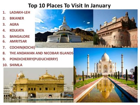 places to visit in us top 10 places to visit in january