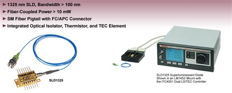 sld superluminescent diode superluminescent diode sld light source for oct systems