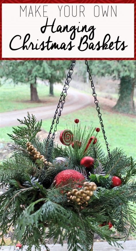how to put christmas lights on shrubs 17 best ideas about winter hanging baskets on pinterest