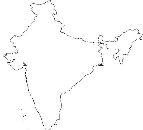 East India Map Outline by Gaga Outline World Map With Continents