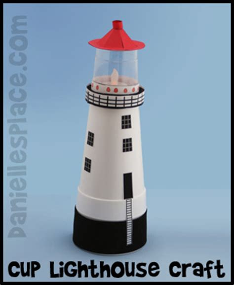 lighthouse template craft lighthouse crafts and learning activities