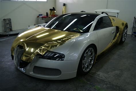 gold bugatti bugatti veyron grand sport vitesse black and gold chrome