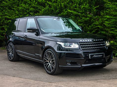 black land rover 2017 2017 range rover 3 0 td v6 vogue autovogue range rover