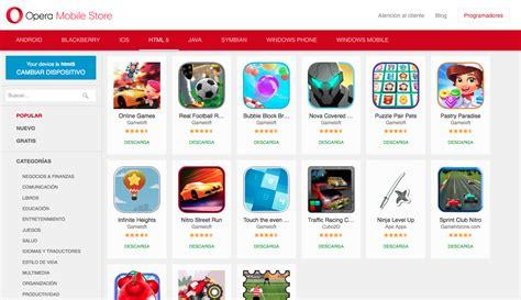 themes opera mobile store top canales de descarga de apps