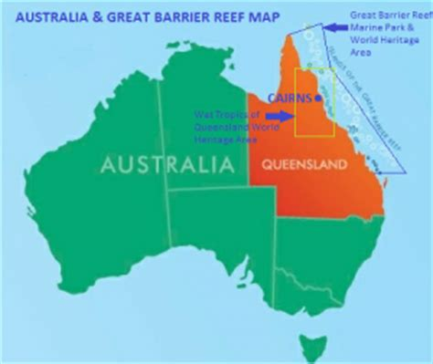 great barrier reef map photo gallery reef experience