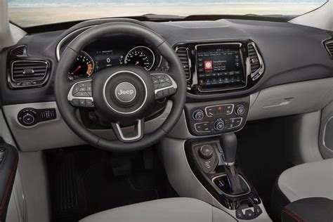 jeep compass dashboard new 2017 jeep compass earns iihs top safety pick award