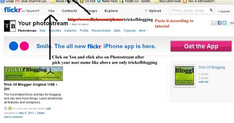 blogspot tutorial blogger tips n tricks add flickr picasa web photobucket other albums slideshow