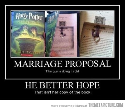 the marriage book books harry potter hump day part deux stubborn thoughts