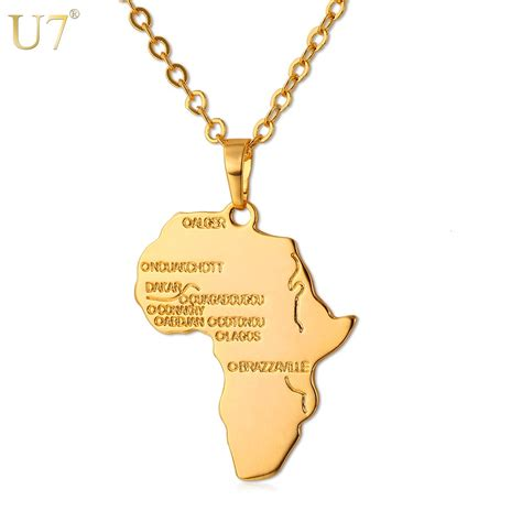 africa map pendant necklace buy wholesale pendant from china