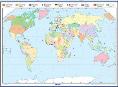 cadenas montañosas mas importantes del mundo mapamundi con division politica para colorear mapamundi