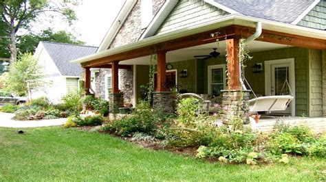 porch designs ranch style homes idea home and house