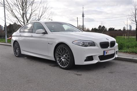 5 11 Paket Black List White f10 with 20s and m sport suspension