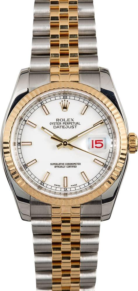 Rolex White rolex datejust 116233 white
