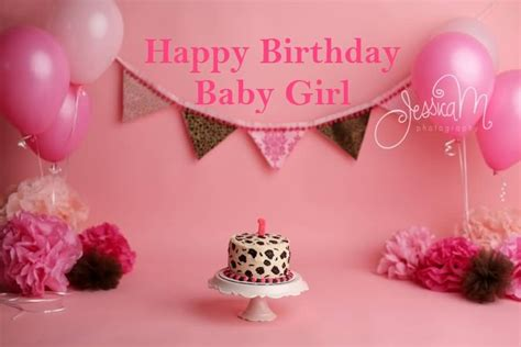 Wishing My Baby Happy Birthday Fabulous Greetings Birthday Wishes For Baby Girl