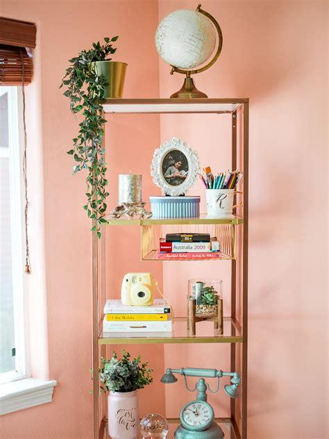 diy bookshelf decorating home office decor ideas