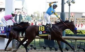 Favorite American Pharaoh wins the Kentucky Derby   Daily