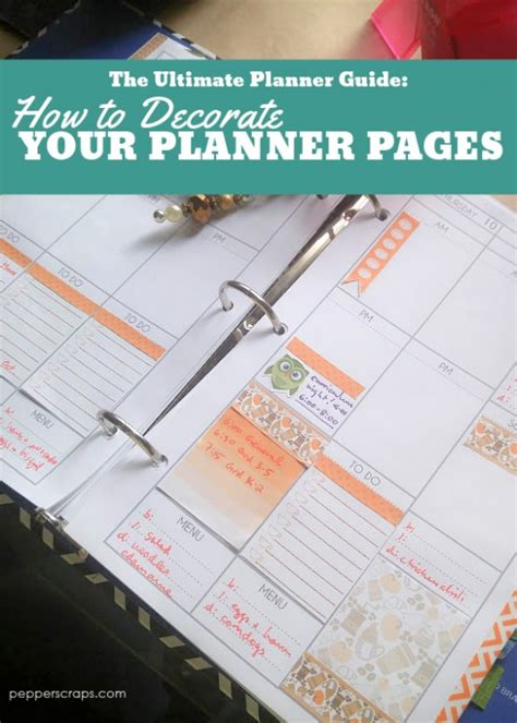 the beginner s guide to creating planner pages in indesign the ultimate planner guide how to decorate your planner
