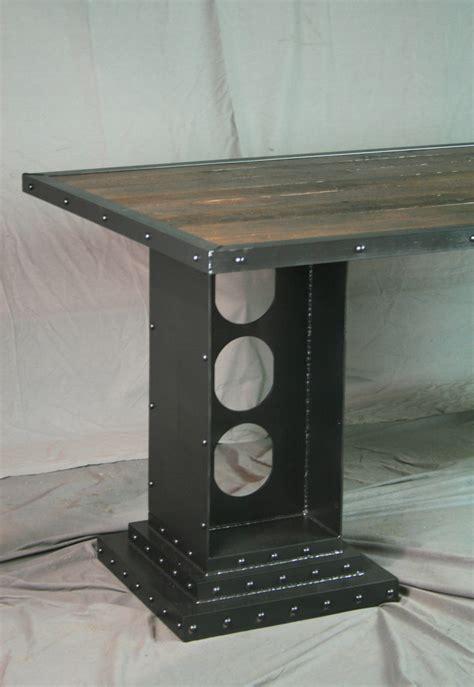 modern desk legs modern industrial desk with girder legs combine 9