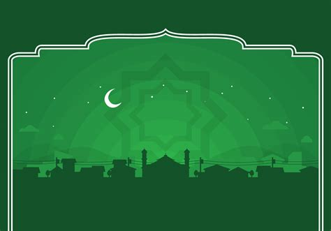 background hijau islami vector ramadhan background download free vector art