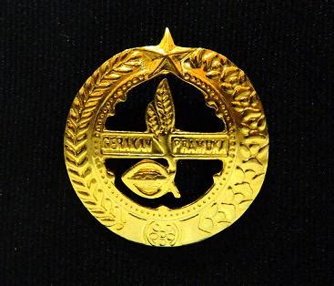 Tanda Topi Pramuka Pandega Putra 301 moved permanently