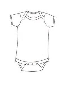 Colouring Pages Baby Onesie And Search On Pinterest sketch template