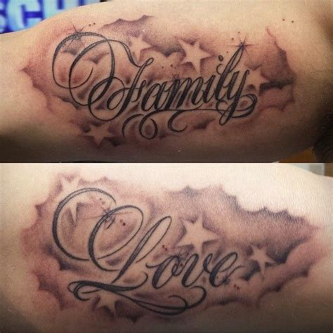girlfriend name tattoo ideas on chest cloud tattoo designs for men familly and love cloud