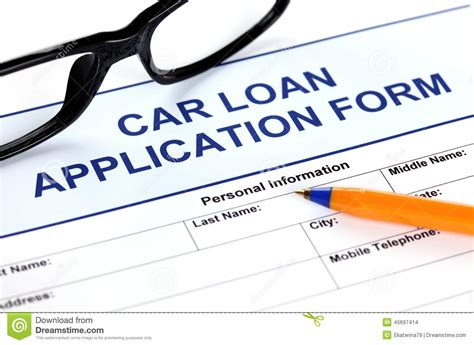 car application applying for loan with no credit personal loans with