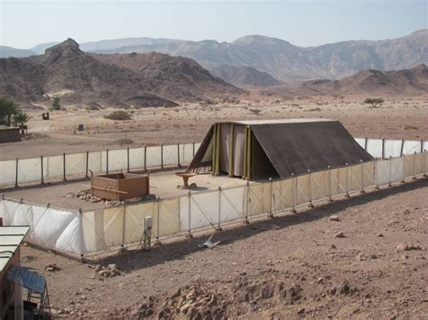 Platform Tents by Old Testament Tabernacle Model Biblical Israel Tours