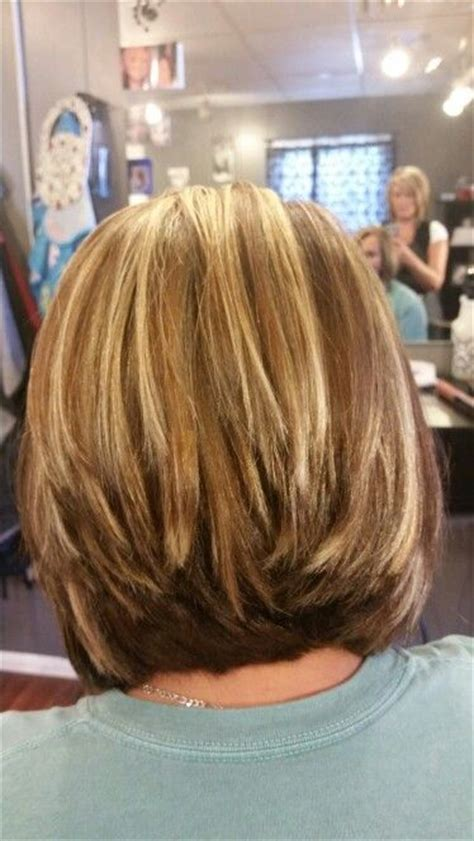 photos of medium stacked hair cuts medium stacked bobs medium and haircuts on pinterest