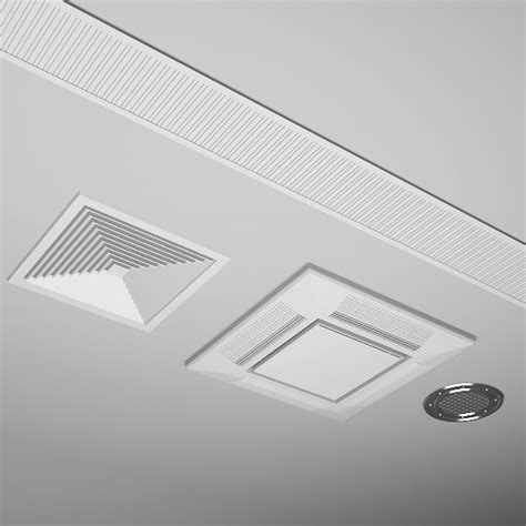 air conditioner ceiling vents 3d model of ceiling vents