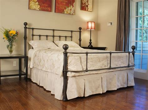 King Size Bed Frame And Mattress King Size Metal Bed Frame Diavolet Designs Impressive King Size Metal Bed