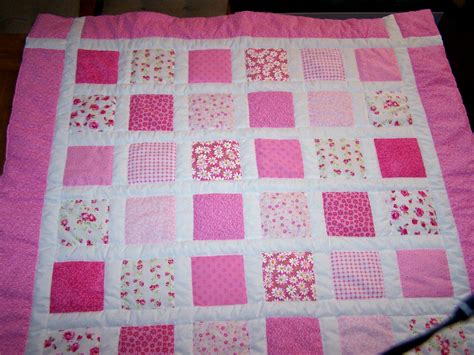 Pink Patchwork Quilts - quilts by sherry quilts page