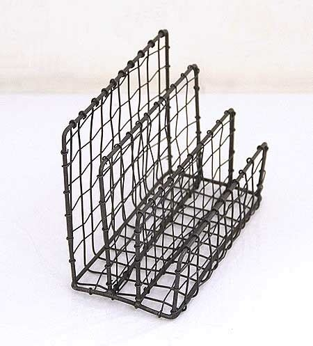 wire holder for desk wire letter holder eclectic desk accessories by