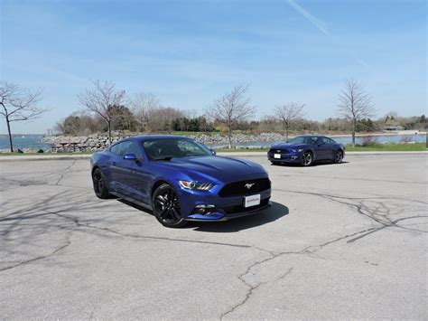 Mustang 3 7 Auto Vs Manual 2015 ford mustang v6 vs ford mustang ecoboost autoguide