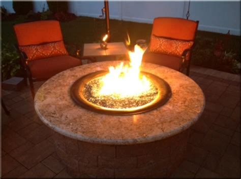 build your own propane pit table custom metal work